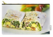 Grilled Vegetable And Salad Wrap Carry-all Pouch