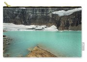 Grinnell And Salamander Glaciers Carry-all Pouch by Jemmy Archer