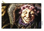 Grinning Mardi Gras Jester Carry-all Pouch