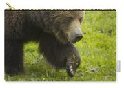 Grizzly Bear Boar-signed-#8517 Carry-all Pouch