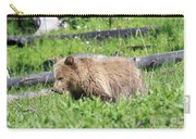 Grizzly Bear Cub In Yellowstone National Park Carry-all Pouch