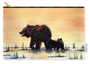 Grizzly Bears Carry-all Pouch