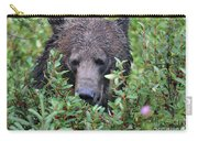 Grizzly In The Berry Bushes Carry-all Pouch