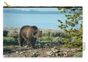 Grizzly Sow At Yellowstone Lake Carry-all Pouch