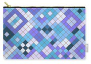 Groovy Blues Carry-all Pouch