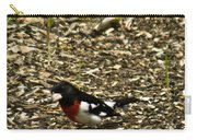 Grosbeak With Quizzical Look Carry-all Pouch