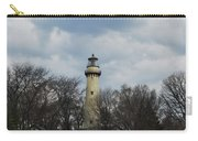 Grosse Point Lighthouse Portrait Carry-all Pouch