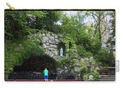 Grotto Of Our Lady Of Lourdes Carry-all Pouch