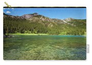 Grotto Pond Canmore Alberta Carry-all Pouch