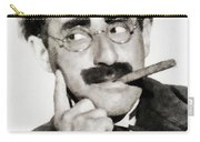 Groucho Marx, Vintage Comedy Actor Carry-all Pouch