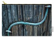 Copper Ground Wire On Utility Pole Carry-all Pouch
