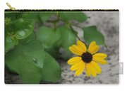 Grounded Sunflower Carry-all Pouch