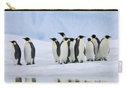 Group Of Emperor Penguins Carry-all Pouch