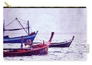 Group Of Fishing Boats Carry-all Pouch