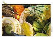 Group Of Gourds Expressionist Effect Carry-all Pouch