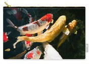 Group Of Koi Fish Carry-all Pouch