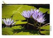 Group Of Lavender Lillies Carry-all Pouch