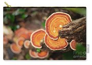 Group Of Orange Mushrooms Carry-all Pouch