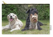 Group Of Three Dogs Carry-all Pouch