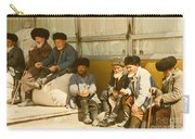 Group Of Uzbek Retirees Carry-all Pouch