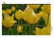 Grouping Of Yellow Tulips Carry-all Pouch