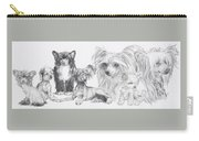 Growing Up Chinese Crested And Powderpuff Carry-all Pouch