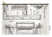 Grundy Typewriter Patent 1889 Carry-all Pouch