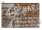 Grunge Background Carry-all Pouch by Carlos Caetano