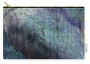 Grunge Texture Blue Ugly Rough Abstract Surface Wallpaper Stock Fused Carry-all Pouch