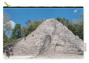 Grupo Nohoch Mul At The Coba Ruins  Carry-all Pouch