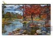 Guadalupe River In Autumn Carry-all Pouch