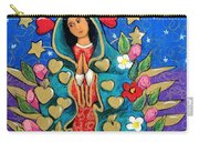 Guadalupe With Stars Carry-all Pouch