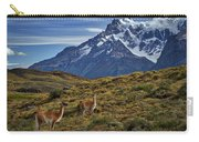 Guanacos In Patagonia Carry-all Pouch