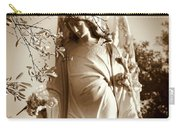 Guardian Angel Bw Carry-all Pouch