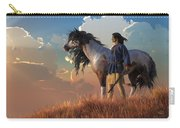 Guardians Of The Plains Carry-all Pouch