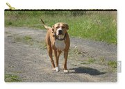 Guarding Pit Bull Dog Carry-all Pouch