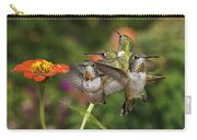 Guarding The Zinnia Carry-all Pouch