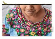 Guatemalan Girl Carry-all Pouch