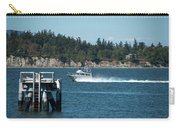 Guemes Island And Fishing Boat Carry-all Pouch