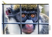 Guenon Monkey Carry-all Pouch
