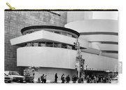 Guggenheim Museum Nyc Bw Carry-all Pouch