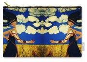 Guiar-symmetrical Art Carry-all Pouch