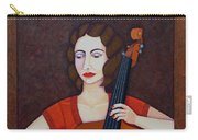 Guilhermina Suggia - Woman Cellist Of Fire Carry-all Pouch
