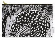 Guinea Fowl Under The Stars Carry-all Pouch