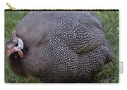 Guinnea Fowl On The Run Carry-all Pouch