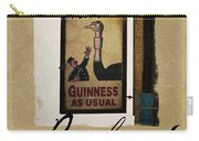 Guinness As Usual Athlone Ireland Carry-all Pouch