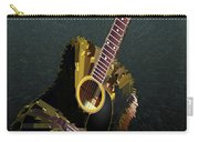 Guitar Abstract Carry-all Pouch