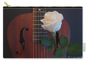 Guitar And Rose 2 Carry-all Pouch