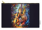 Guitar And Violin Carry-all Pouch