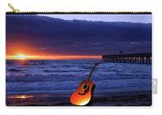 Guitar At Sunrise Carry-all Pouch